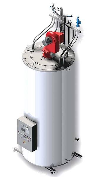 Intec Energy - High pressure steam boiler